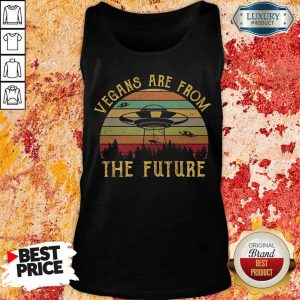 Vegans Are From The Future Vintage Tank Top