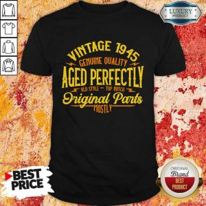 Vintage 1945 Genuine Quality Aged Perfectly Original Parts Mostly Shirt