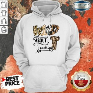 Wild T About Teaching Leopard Hoodie