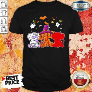 Elephant Cosplay Awful Character Witch Halloween Shirt