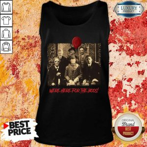 Horror Movie Character Were Here For The Boos ShirtHorror Movie Character Were Here For The Boos Tank Top