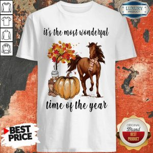 Horse It Is The Most Wonderful Time Of The Year Halloween Shirt