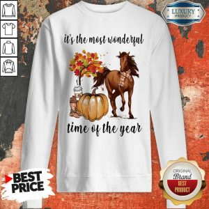 Horse It Is The Most Wonderful Time Of The Year Halloween Sweatshirt