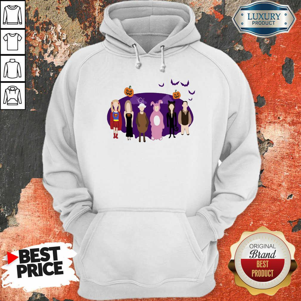 The One With The Halloween Party Hoodie