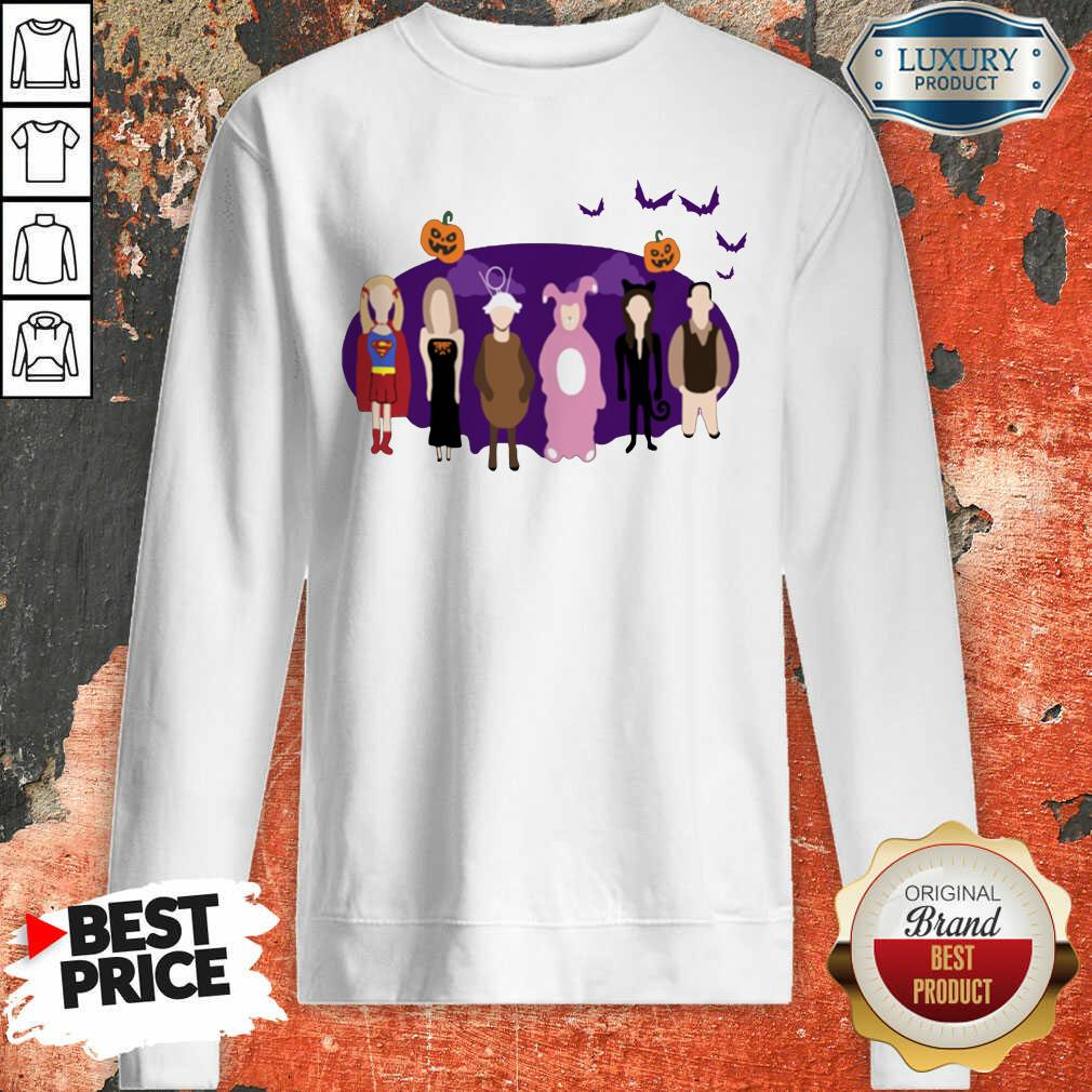 The One With The Halloween Party Sweatshirt