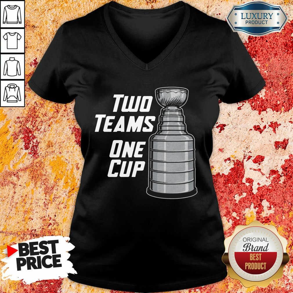 Two Teams One Cup V-neck